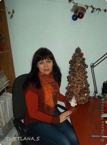 Новогоднюю ёлочку отнесла на работу, теперь она у меня украшает рабочий стол фото 6