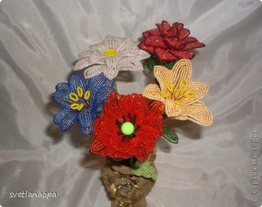 Заказали мне 5 разных цветков на длинной ножке, фото 1