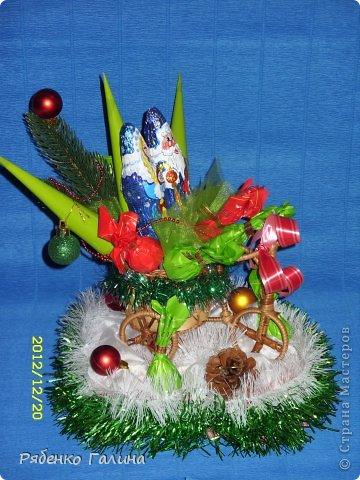 это новогоднее оформление коробки конфет фото 5