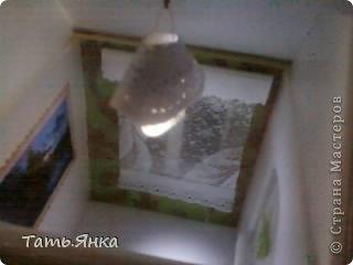 Делала домик для Катюши Шильниковой.Фото перед отправкой,к сожалению на телефон(на тот момент не было цифрового)Посылка дошла благополучно и я смело могу  показать вам домик. фото 8