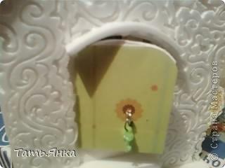 Делала домик для Катюши Шильниковой.Фото перед отправкой,к сожалению на телефон(на тот момент не было цифрового)Посылка дошла благополучно и я смело могу  показать вам домик. фото 7