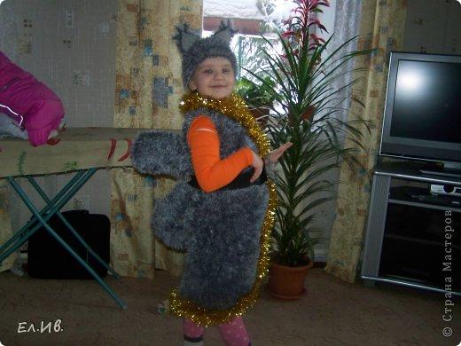 К Новому году любимой племяшке связался костюм.Отгадайте кого? фото 1