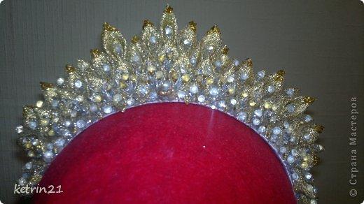 Платье и корона для моей Снежинки! фото 4