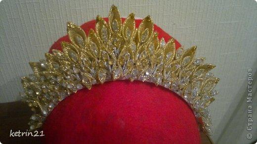 Платье и корона для моей Снежинки! фото 5