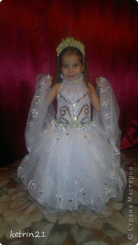 Платье и корона для моей Снежинки! фото 1