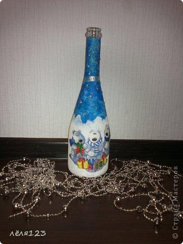 бутылочка к новому году:) фото 1
