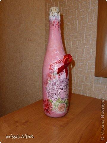 Это мой дебют в работе с бутылками. фото 2