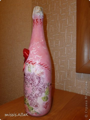 Это мой дебют в работе с бутылками. фото 3
