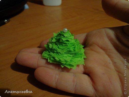 Вот такая ёлочка у меня получилась! Идею нашла в интернете. фото 10