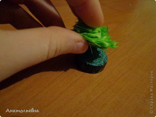 Вот такая ёлочка у меня получилась! Идею нашла в интернете. фото 11
