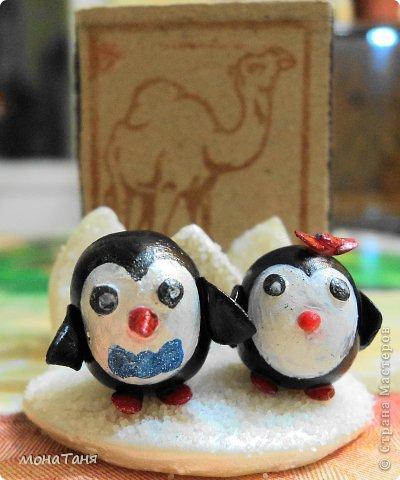 Пингвины на льдине фото 2