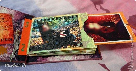 Здраствуйте, дорогие мастерицы!! Осенью мы с подругой решили устроить фотоссесию. и мне пришла идея подарить ей на НГ фотоальбом с капелькой теплых слов и пожеланий на память, о той прекрасной осени))) и вот что получилось)) фото 8