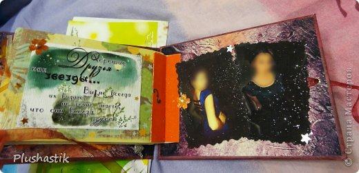 Здраствуйте, дорогие мастерицы!! Осенью мы с подругой решили устроить фотоссесию. и мне пришла идея подарить ей на НГ фотоальбом с капелькой теплых слов и пожеланий на память, о той прекрасной осени))) и вот что получилось)) фото 21