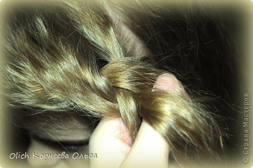 Мастер-класс Прическа Плетение Цветок из волос Волосы фото 4