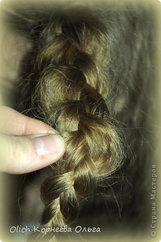 Мастер-класс Прическа Плетение Цветок из волос Волосы фото 6