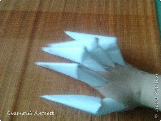 Поделка изделие Оригами Когти
