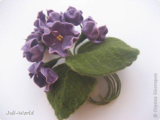Фиалки, орхидея фото 1