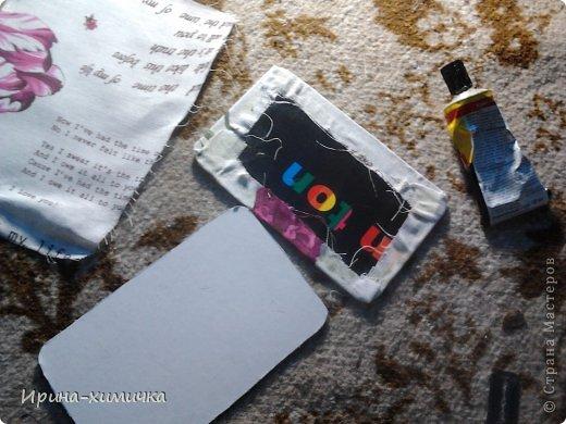 Ну не покупать же чехол для планшета за 2 тысячи рублей!!! Решила сделать сама фото 10