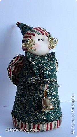 Куклы Рождество Шитьё Текстильные Ангелы с выкройкой Ткань фото 2