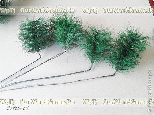 Мастер класс новогодняя елка своими руками. фото 7