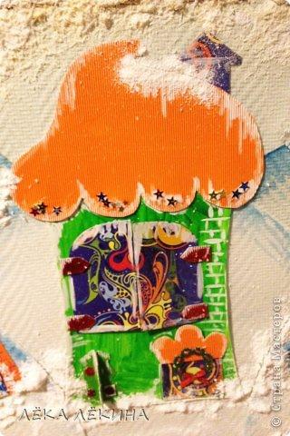 Кто-кто в домике живет?! Кто-кто в заснежинном живет? Это детишки живут! Вот такая у нас получилась работа зимняя как раз к новогоднему утреннику! И домики детишек поближе)) Присоединяйтесь! www.malenkaystrana.ru фото 5