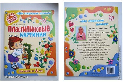 """Здравствуйте друзья! Хотела бы показать Вам несколько работ моих учеников 2-ого класса, школа №249 (г Санкт-Петербург). Вот уже год работает наша студия """"ПЛАСТИЛИНята"""". Трудимся мы не покладая рук, их терпению и усидчивости не видно конца. Именно они сподвигли меня на книгу """"Пластилиновые картинки"""",которую я написала в этом году и она уже вышла в свет. (магазины """"Буквоед"""" , в Питере -Книжная Ярмарки Дк им.Крупской)) http://www.litera.spb.ru/catalog/preschool/home-alone/plastilinovye-kartinki-ins Для меня - это первый опыт с крупным издательством. Получила массу удовольствия. Это новый виток в моём творчестве. Так как на протяжении восьми лет  я пишу сказки, стихи и рассказы под псевдонимом Анна Сожан . В этой книге я выступаю как педагог дополнительного образования Сорокина Жанна Владимировна, такой меня знают мои дети-мои верные и благодарные Пластилинята.    Ежик в лесу Морозовой Яны , 2 кл.  фото 10"""