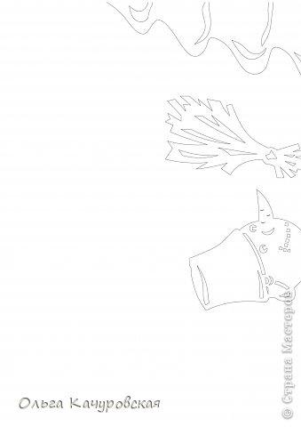 Интерьер Картина панно рисунок Книга Новый год Рождество Вырезание Всё новое - это хорошо   отредактированное старое -   шаблоны Бумага фото 19