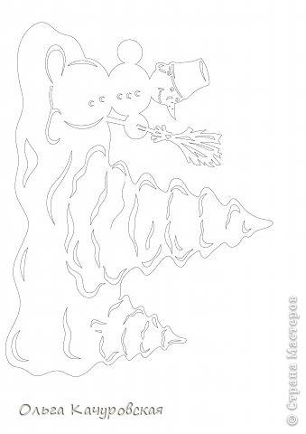 Интерьер Картина панно рисунок Книга Новый год Рождество Вырезание Всё новое - это хорошо   отредактированное старое -   шаблоны Бумага фото 18