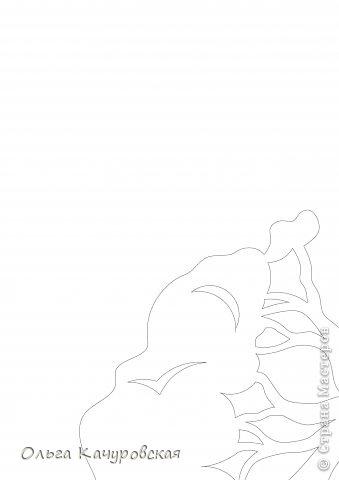 Интерьер Картина панно рисунок Книга Новый год Рождество Вырезание Всё новое - это хорошо   отредактированное старое -   шаблоны Бумага фото 25