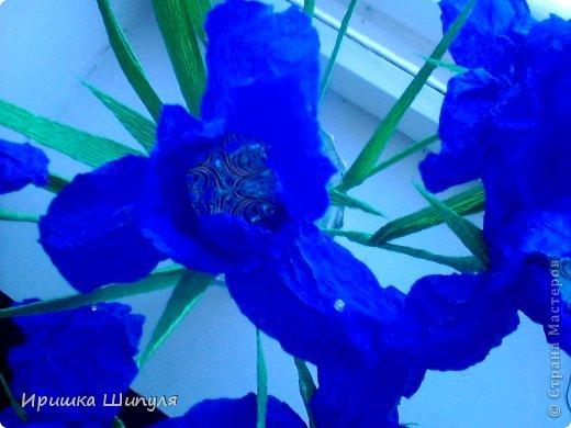 На каждом цветке,на одном лепестке прикреплены маленькие стразики) фото 5