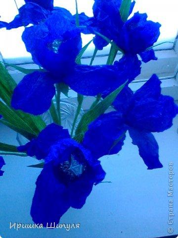 На каждом цветке,на одном лепестке прикреплены маленькие стразики) фото 1