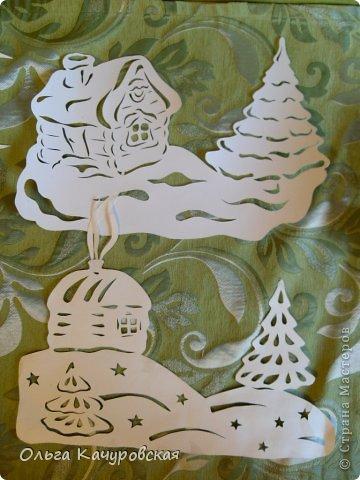 Интерьер Картина панно рисунок Книга Новый год Рождество Вырезание Всё новое - это хорошо   отредактированное старое -   шаблоны Бумага фото 8
