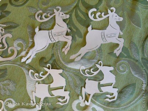 Интерьер Картина панно рисунок Книга Новый год Рождество Вырезание Всё новое - это хорошо   отредактированное старое -   шаблоны Бумага фото 9
