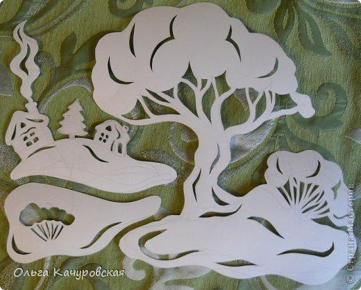 Интерьер Картина панно рисунок Книга Новый год Рождество Вырезание Всё новое - это хорошо   отредактированное старое -   шаблоны Бумага фото 11
