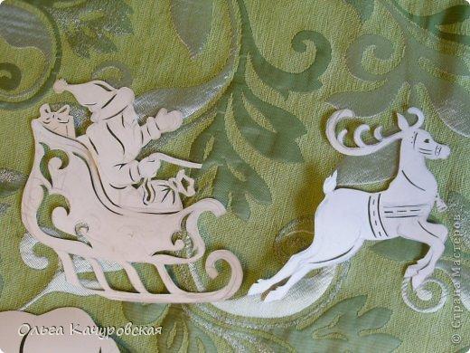 Интерьер Картина панно рисунок Книга Новый год Рождество Вырезание Всё новое - это хорошо   отредактированное старое -   шаблоны Бумага фото 12