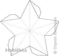 Как сделать звезду из картона на елку