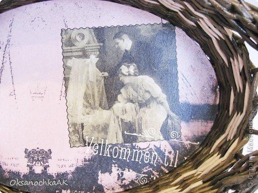 """Здравствуйте снова! Это я со своими доделками! Хочу показать то, что я наконец закончила и сфотографировала. :)) Номер один - это  ретро-шкатулка """"Ангелочек"""". Очень мне нравится эта декупажная карта! :))) фото 8"""