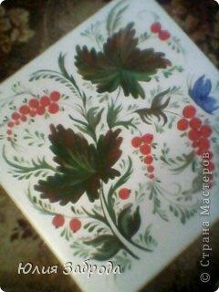 Картина панно рисунок Роспись Петриковка Краска фото 6