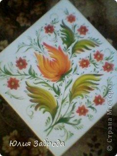 Картина панно рисунок Роспись Петриковка Краска фото 2