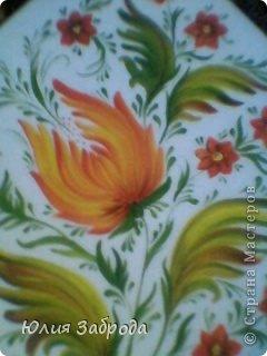 Картина панно рисунок Роспись Петриковка Краска фото 1