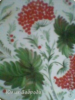 Картина панно рисунок Роспись Петриковка Краска фото 3