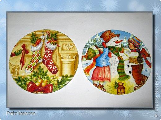 Новый год самый долгожданный праздник. Многие любят зиму из-за этого праздника. Все люди ждут новогоднего волшебства. Каждая семья украшает свое жилище цветными лентами и мишурой, зеленая пушистая елка будто призывает своим свежим ароматом к празднованию.  Вот и я решила сделать новые украшения к празднику. В шкафу уже давно пылятся ненужные СD – диски, которые никогда не будут использоваться, но все жалко их выкинуть. Я подумала, что  их можно использовать на новогодние украшения. фото 13