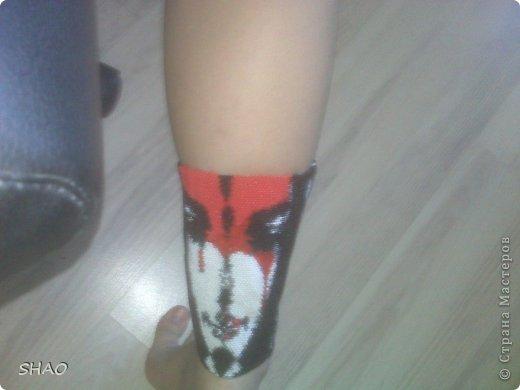 Браслет на ногу Бисер