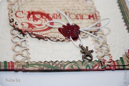 всем привет) попросили меня сделать конверт для денежки под елку в подарок одному молодому человеку,  который серьезно увлекается ящерицами и иже с ними))) фото 3