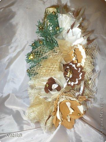Бутылочка в конфетках. фото 3