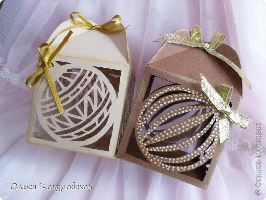 Коробка для подарка кружевная