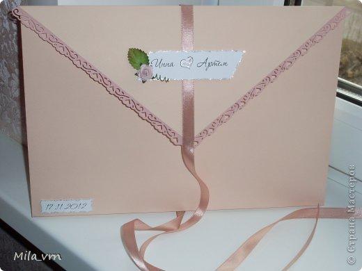 И вновь я с комплектом упаковок (для диска и фотографий) для свадьбы фото 5