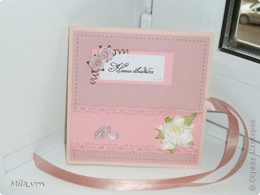 И вновь я с комплектом упаковок (для диска и фотографий) для свадьбы фото 2