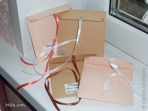 И вновь я с комплектом упаковок (для диска и фотографий) для свадьбы фото 6