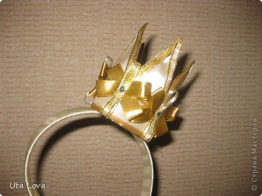 Маленькая корона сделанная своими руками